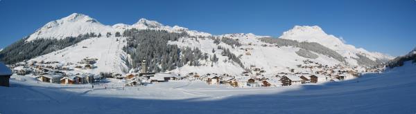 Panoramabild Lech am Arlberg